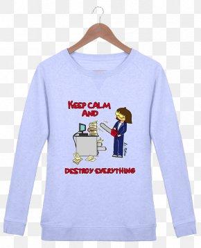 T-shirt - Long-sleeved T-shirt Hoodie Bluza PNG
