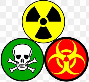 Skull - Human Skull Symbolism Biological Hazard Skull And Crossbones Hazard Symbol PNG