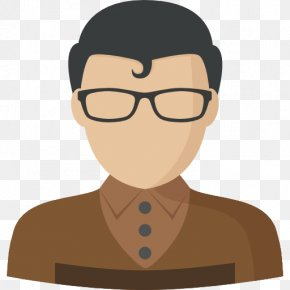 Cartoon Boy With Glasses - Cartoon Glasses PNG