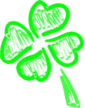 Clover Cliparts - Luck Four-leaf Clover Saint Patricks Day Clip Art PNG