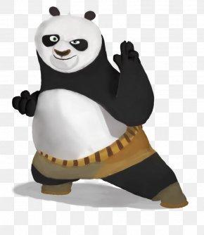 Kung-fu Panda - Po Tigress Master Shifu Giant Panda Kung Fu Panda PNG