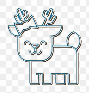 Logo Line Art - Animal Icon Deer Icon Forest Icon PNG