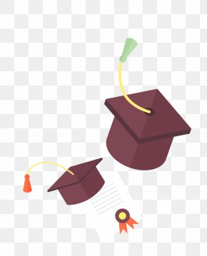 Bachelor Of Cap Vector Material - Bachelors Degree Academic Degree Licentiate Illustration PNG