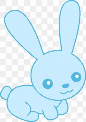 Rabbit - Easter Bunny Rabbit Drawing Clip Art PNG