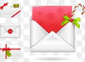 Vector Envelope - Royal Christmas Message Icon PNG