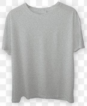 T Shirt Mockup - Long-sleeved T-shirt Long-sleeved T-shirt Shoulder Neck PNG