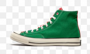 Converse Chuck Taylor 70's Hi ShoesWhiteGreen Converse Tennis Shoes For Women - Sports Shoes Chuck Taylor All-Stars Converse Shoes PNG