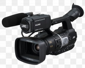 Camera - Video Cameras Professional Video Camera JVC Camcorder PNG