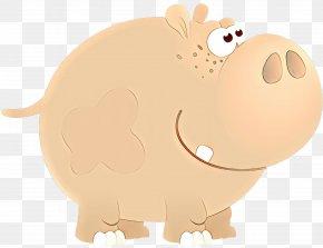 Fawn Livestock - Cartoon Nose Snout Clip Art Livestock PNG