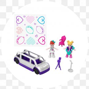 Toy - Toy Polly Pocket Mattel Barbie Monster High PNG