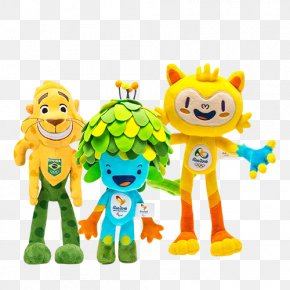 Mascote Copa - 2016 Summer Olympics Olympic Games Olympic Golf Course 2016 Summer Paralympics Paralympic Games PNG