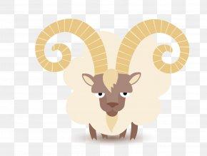 Cute Lamb - Boer Goat Sheep Clip Art PNG