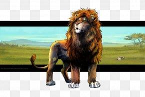 Lion - Lion DeviantArt Digital Art PNG