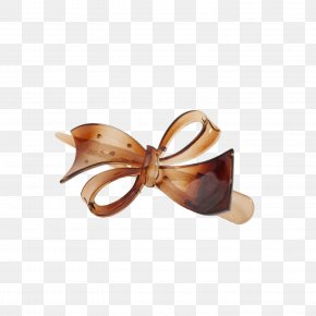 Bow Hairpin - Designer Hairpin Barrette PNG
