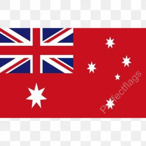 Australia - Flag Of Australia Royal Australian Air Force Ensign Australian Red Ensign PNG