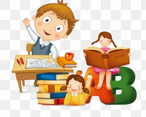 Learning The Child - Student Estudante Clip Art PNG