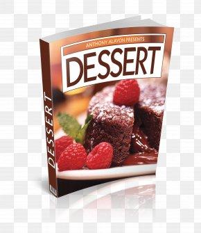 Dessert - Chocolate Brownie Praline Dessert Strawberry PNG
