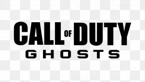 Call Of Duty Logo - Call Of Duty: Ghosts Call Of Duty: Black Ops II Call Of Duty: Advanced Warfare PNG