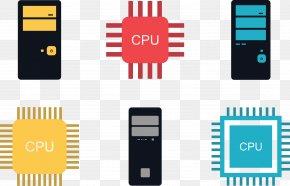 CPU Vector Illustration - Central Processing Unit Euclidean Vector Vector Processor Video Card PNG