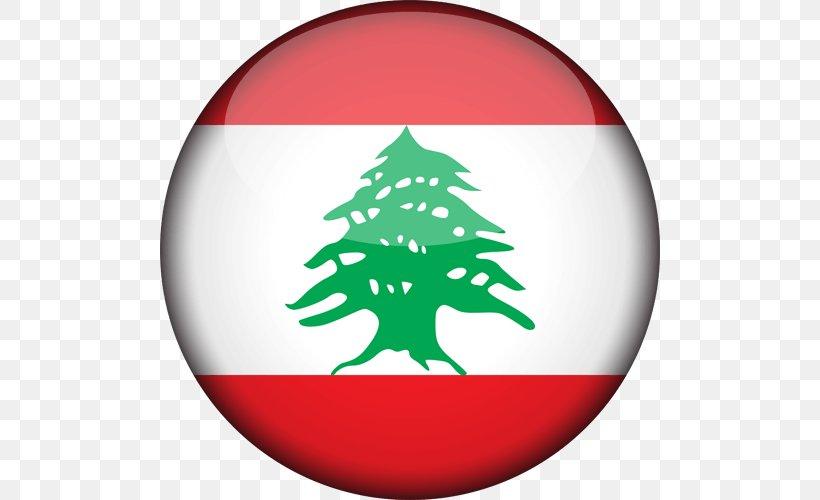 Flag Of Lebanon Flags Of The World National Flag, PNG, 500x500px, Lebanon, Christmas, Christmas Decoration, Christmas Ornament, Christmas Tree Download Free