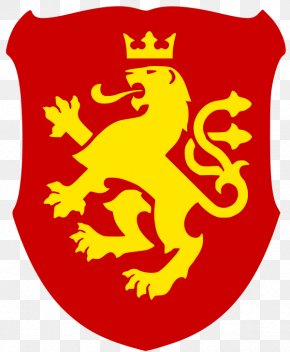 Lion - National Emblem Of The Republic Of Macedonia Macedonians Coat Of Arms PNG