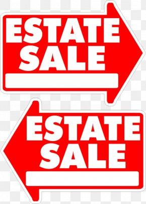Product Sale - Estate Sale Sales Lawn Sign House PNG