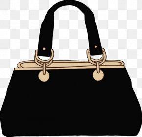 Material Property Tote Bag - Handbag Bag Black White Shoulder Bag PNG