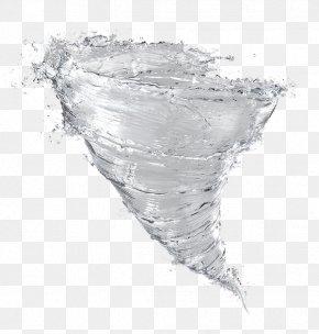 Tornado-like Water - Whirlwind Water Tornado PNG