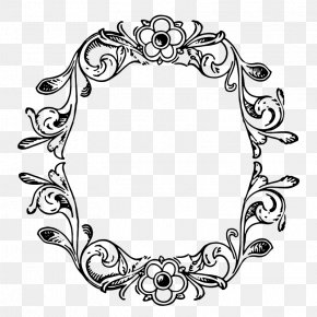 Floral Border Art - Picture Frame Ornament Decorative Arts Clip Art PNG