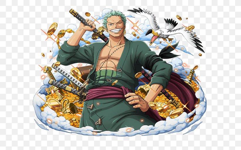 Roronoa Zoro One Piece Treasure Cruise Monkey D Luffy Vinsmoke Sanji Dracule Mihawk Png 640x512px Watercolor