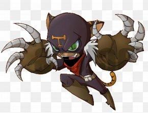 Demon - Demon Horse Decapoda Cartoon Legendary Creature PNG