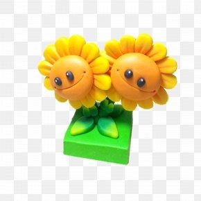 Cartoon Sunflower - Plants Vs. Zombies Cartoon Download PNG