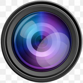 Camera Lens - Camera Lens Photography Clip Art PNG