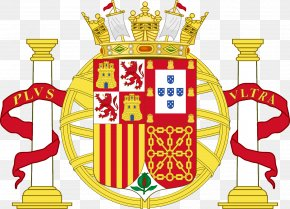 Gold Peacock - Coat Of Arms Of Spain First Spanish Republic Iberian Union PNG