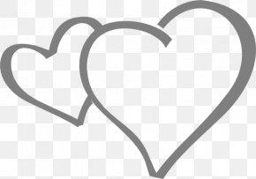 Grey Heart Cliparts - Grey Heart Clip Art PNG