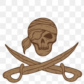 Vector Decorative Pirate - Piracy Icon PNG