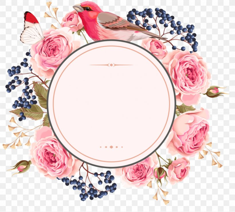 Wedding Invitation Picture Frames Flower Clip Art Borders And Frames, PNG, 1024x926px, Wedding Invitation, Borders And Frames, Cosmetics, Decorative Arts, Dishware Download Free