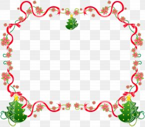 Lace Boarder - Christmas Tree Candy Cane Clip Art PNG
