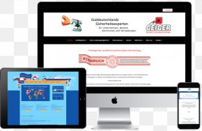 Business - Logistics Service Business Management Web Page PNG