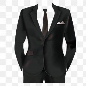Men's Suits - Tuxedo Suit Formal Wear PNG