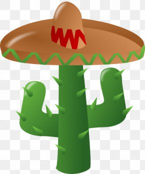 Cartoon Sombrero - Cinco De Mayo Clip Art PNG