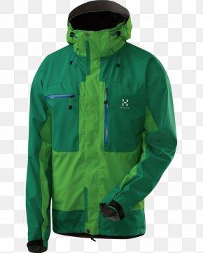 Jacket - Hoodie Jacket Gore-Tex Polar Fleece Haglöfs PNG