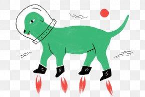 Cartoon Space Puppy - Mammal Spy Vs. Spy Dinner Illustration PNG