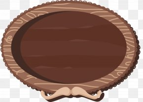 Oval Wooden Signboard - Signage Wood PNG