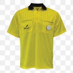 T-shirt - T-shirt Jersey Adidas Polo Shirt Referee PNG