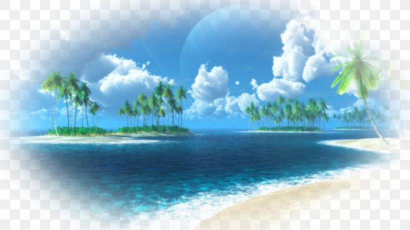 Tropical Islands Resort Ari Atoll Caribbean Beach Desktop