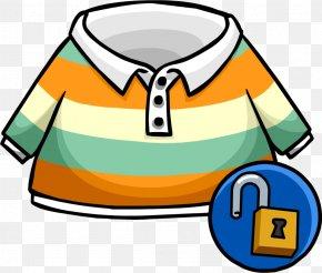Aidilfitri - Club Penguin T-shirt Polo Shirt PNG
