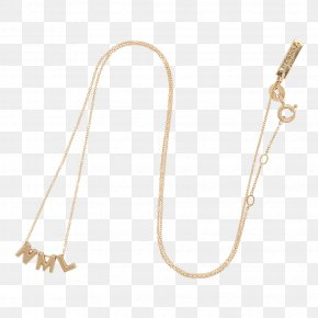 Initials - Necklace Jewellery Gold Silver Charms & Pendants PNG