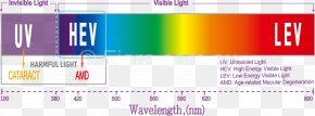 Light - Effects Of Blue Light Technology Visible Spectrum High-energy Visible Light Wavelength PNG