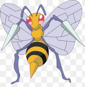 Insect - Pokxe9mon Red And Blue Pokxe9mon GO Pokxe9mon Diamond And Pearl Beedrill PNG